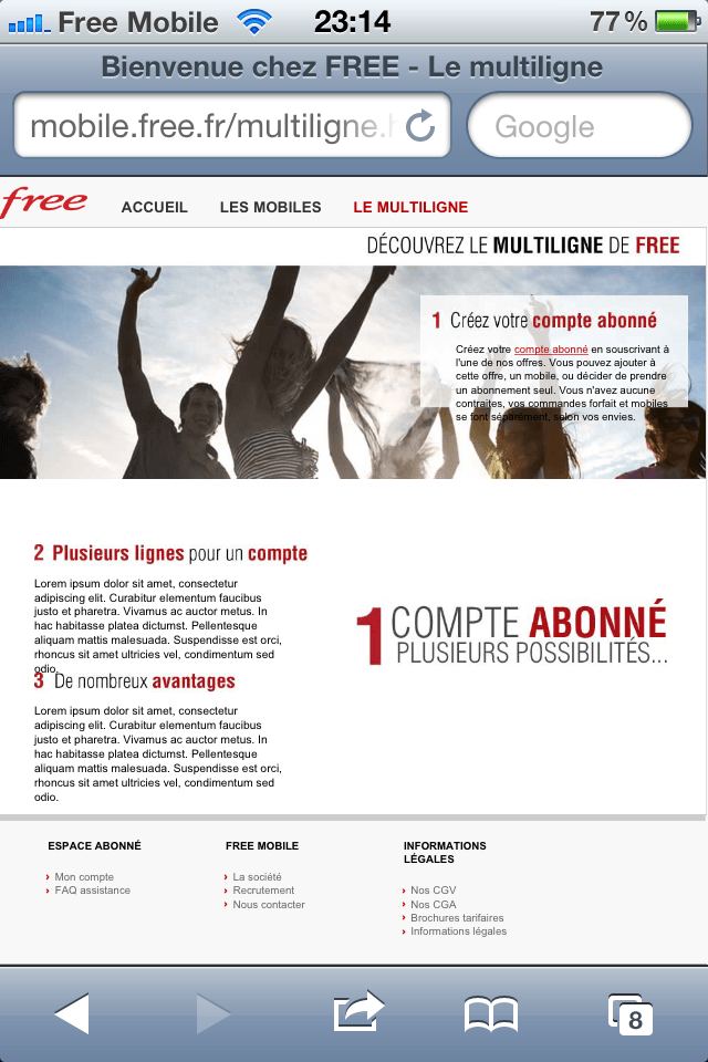 interfacefreemobile