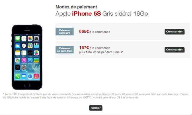 iphone5s freemobile1 iPhone 5S disponible chez Free Mobile