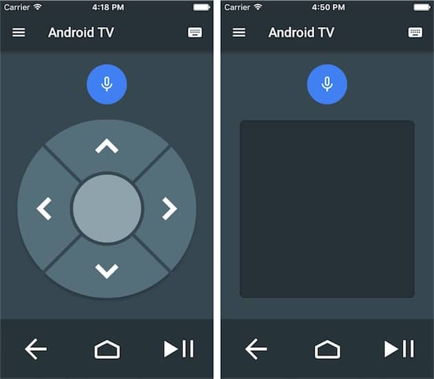 android-tv-ios-app